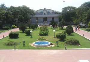 the gardens of Valluvar