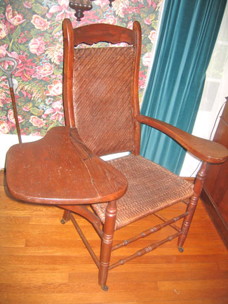 A chair in the Museum House