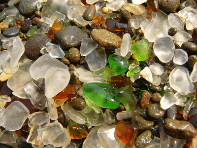 Glass Beach-This image is from a file in  the Wikimedia Commons